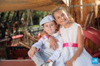 Les photos des enfants des mariés sur l'Hermione à Rochefort
