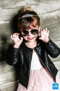 Shooting enfant, la princesse rock