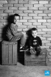 Shooting photo à Saintes de deux frères