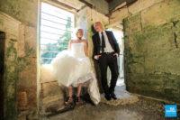 Photo de couple au moulin de la Benne à Chaniers