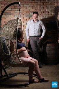 Photo de femme enceinte et du futur papa