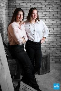 Photo en sœurs au studio de Saintes