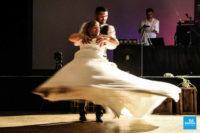 Reportage mariage pendant l'ouverture du bal