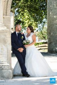 Photo de couple pour leur mariage