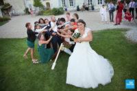 photo ambiance originale sur un mariage