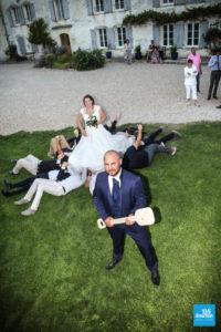 photo fun sur un mariage