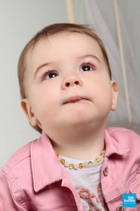 Portrait photo d'une petite fille