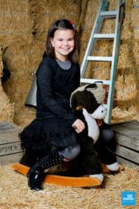 Portrait d'une petit fille