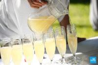 Reportage de mariage lors du vin d'honneur