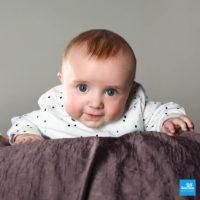 Portrait photo d'un bébé