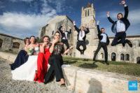 Photo de mariage à l'abbaye de Sablonceaux