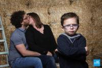 Photo de famille fun