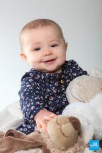 Photo studio d'un bébé à Saintes