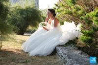 Photo de la mariée à Talmont
