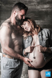 Shooting photo de grossesse en couple