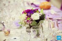 Fleur de décoration de table