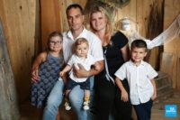 Photo de famille au studio photo de Saintes