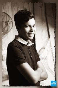 Portrait adolescent en studio à Saintes