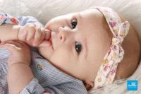 Portrait de bébé en studio