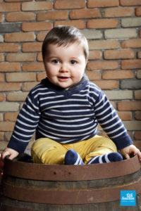 Photo de bébé en studio photo