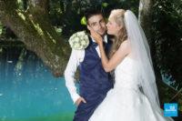 Photo de mariage au Fontaines Bleues