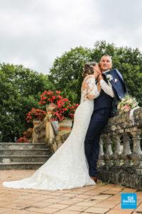 Photo de couple lors d'un mariage