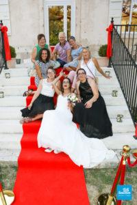 photo de proche lors d'un mariage