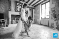 Habillage de la mariée, charme