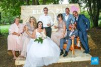 photo de mariage, la famille proche