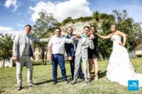 photo de mariage, les amis