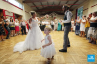 Reportage de la soirée du mariage lors de l'ouverture du bal