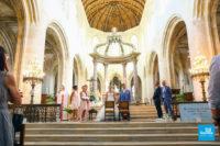 Photo de reportage de mariage lors d'une cérémonie religieuse
