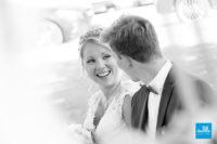 Photo de reportage de mariage, portrait des mariés
