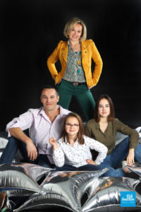 Shooting photo en studio en famille